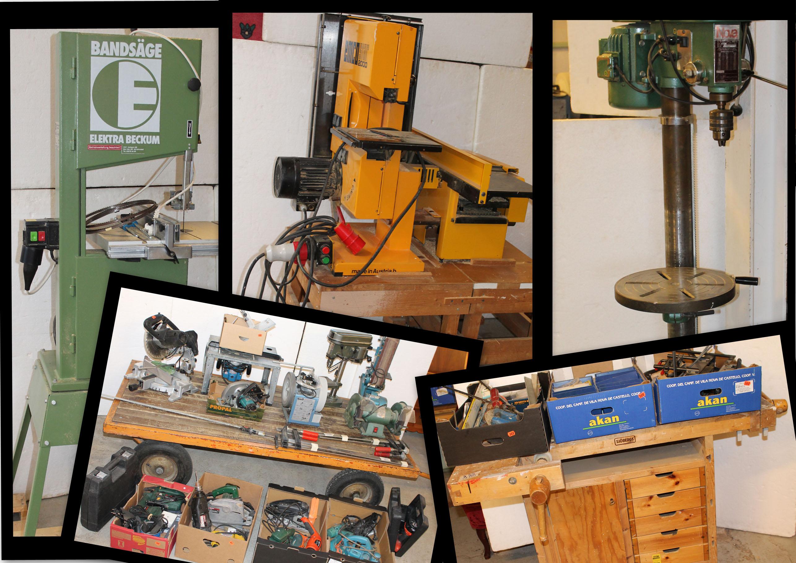 Eldorado i snickerimaskiner - för hobbysnickaren