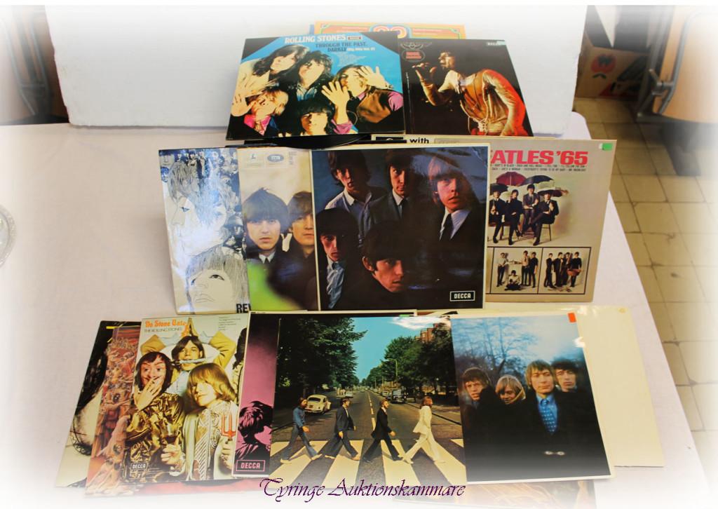 LP-skivor Beatles