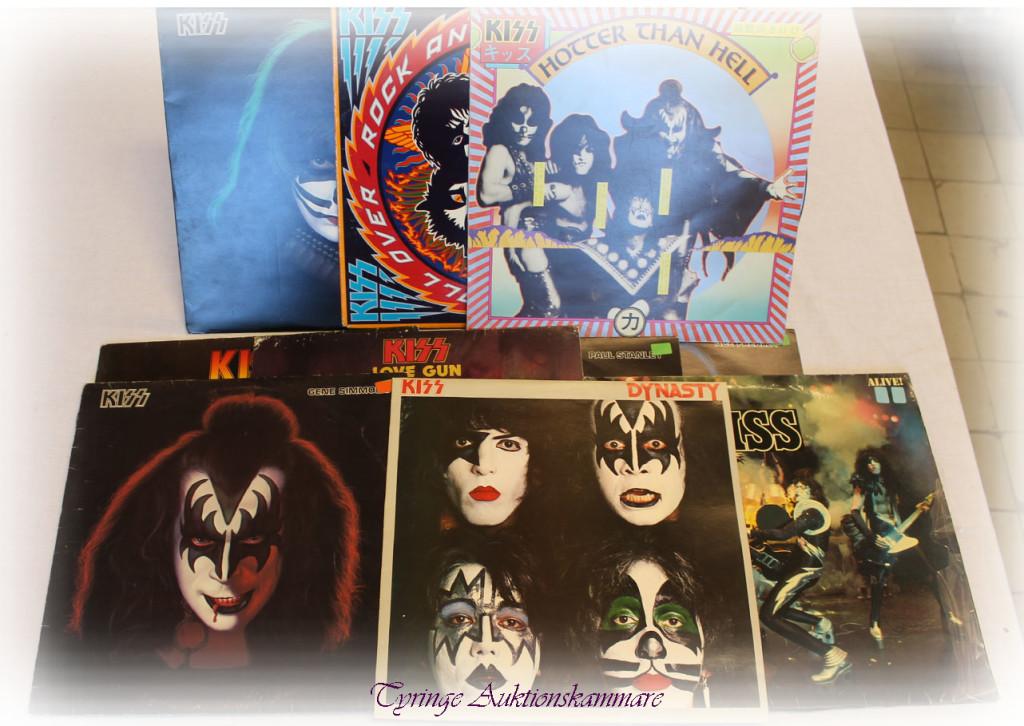 LP-skivor Kizz