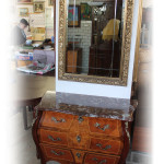 byrå spegel