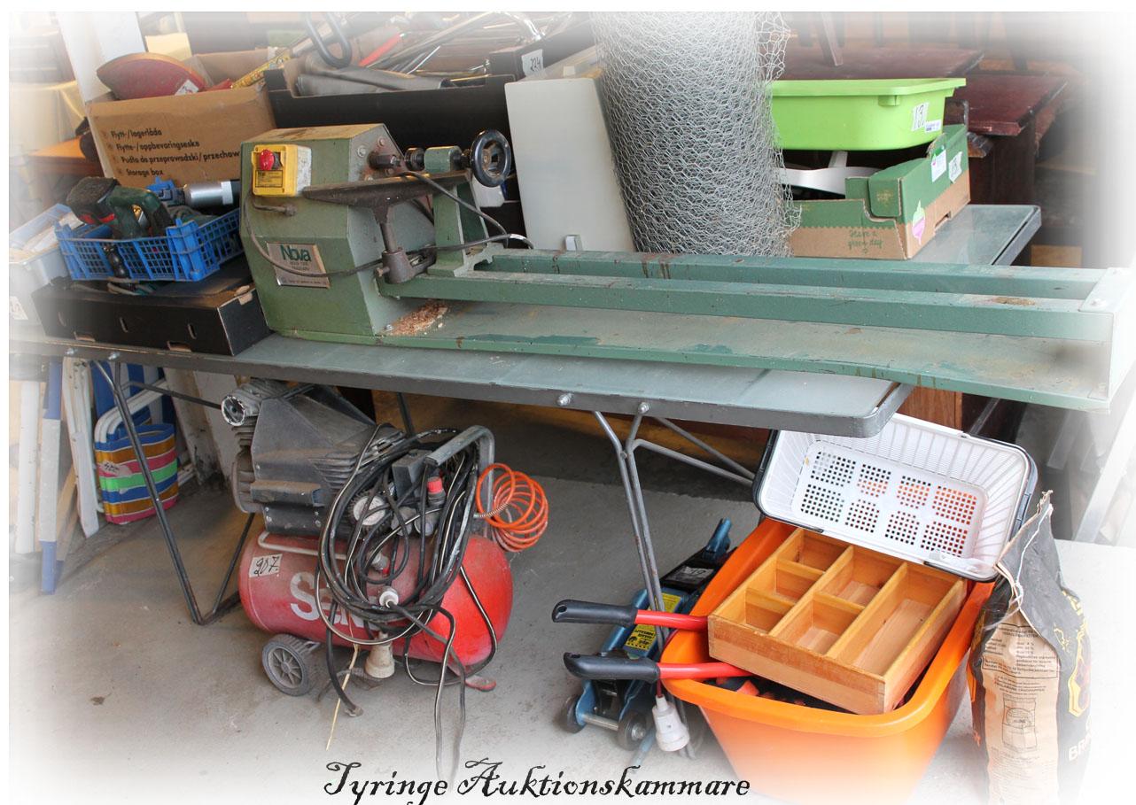 Inredning maskiner och verktyg : maskiner verktyg   Tyringeauktion.se