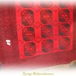 matta röd