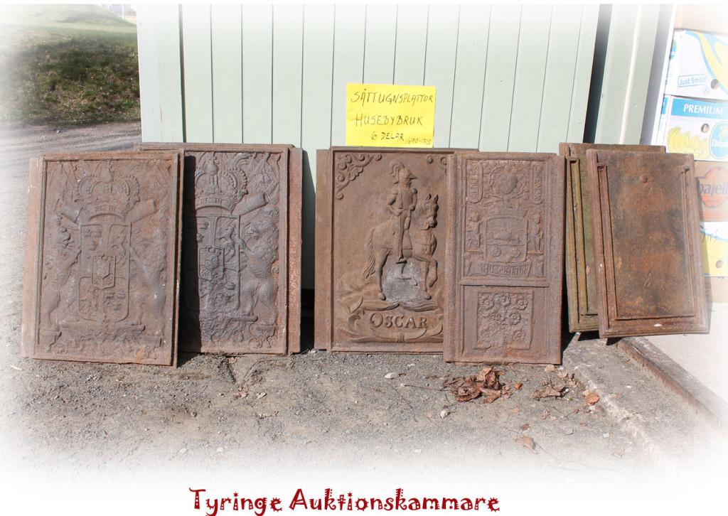 sättugnsplattor 1690-1700 Huseby bruk