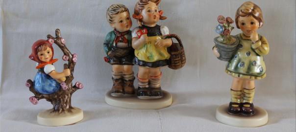 Figuriner passande en vårauktion